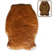 Gingerbread bear blank, 12 cm