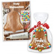 Crafting set gingerbread bell to decorate yourself - Christmas Edition