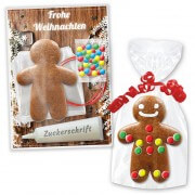 Craft kit Gingerbread man 10cm - Christmas Edition