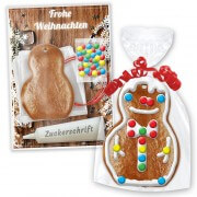 Gingerbread snowman crafting set - Christmas Edition