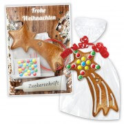 Gingerbread crafting set shooting star - Christmas edition