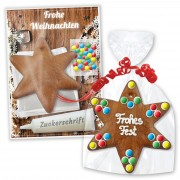 Craft kit gingerbread star - Christmas edition