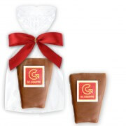 Baumkuchen Cookies optional with Logo - single packed