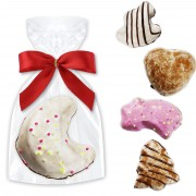 Colorful gingerbread figures, single packed