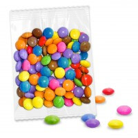 Mixed mini chocolate buttons, 50g