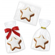 Cinnamon Star Cookie in different packaging