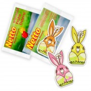 Decor - Easter Bunny with customized promo card