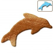 Gingerbread dolphin blank, 12cm