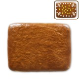 Gingerbread rectangle do-it-yourself, 13x10cm