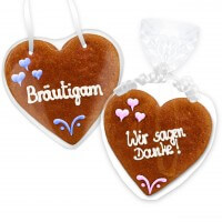 Gingerbread Heart Invitation Benjamin