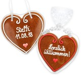 Gingerbread Heart Invitation Vanessa