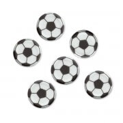 sugar deco soccer topper, 100-pieces