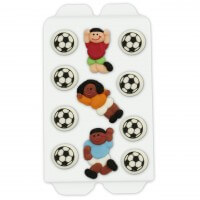 Soccer candy decorations, 11 parts