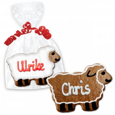 Easter cookie place cards, Easter lamb 12cm