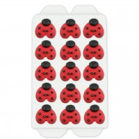 Candy decorations ladybugs, 12 pieces