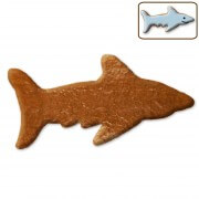 Shark gingerbread to do-it-yourself, 12 cm