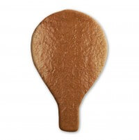Gingerbread hot air balloon blank, 18 cm