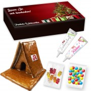 Gingerbread house complete set L in printed advertising box