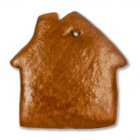 Gingerbread House Decorating DIY Blank, 25cm