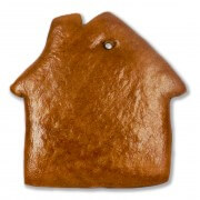 Gingerbread house for decoration, blank 30cm
