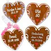 Thanksgiving as gingerbread heart 16cm set Konstantin