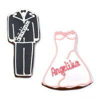 Tuxedo & Dress Gingerbread Place Cards