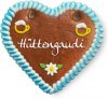 Hüttengaudi - Gingerbread Heart 12cm