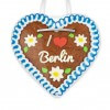 I love Berlin - Gingerbread Heart 12cm