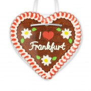 I love Frankfurt - Gingerbread Heart 12cm
