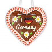 I love Germany - Gingerbread Heart 12cm