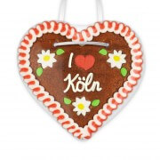 I love Köln - Gingerbread Heart 12cm