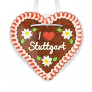 I love Stuttgart - Gingerbread Heart 12cm
