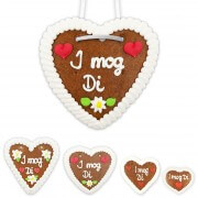 Gingerbread Heart - I mog Di
