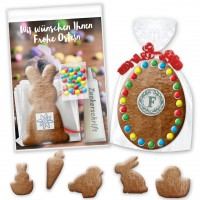 Easter cookie crafting sets incl. Advertising card, logo optional