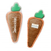 Easter cookie carrot approx. 20cm optionally with logo and text