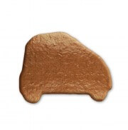 Gingerbread small Car blank to decorate, 10cm