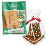 Gingerbread house do-it-yourself, 12x11x13cm