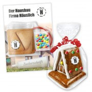 Gingerbread witch house XS crafting set, branded