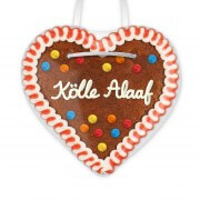 Kölle Alaaf - Gingerbread Heart 12cm