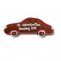 Gingerbread-car - classic - individual, ca. 24cm - optional with logo