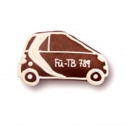 Gingerbread-car - individual, ca. 10cm - optional with logo