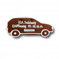 Gingerbread-car-SUV individual, 24cm - optional with logo