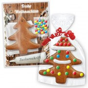 Gingerbread fir tree do-it-yourself kit - Christmas edition