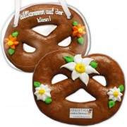 Gingerbread Pretzel, 50cm - optional with Logo