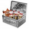 Gingerbread Deluxe Metal chest
