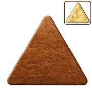 Triangular gingerbread blank, 25cm