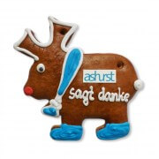 Gingerbread - Moose customized, 15cm