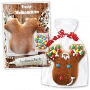 Gingerbread craft kit moose head - Christmas Edition