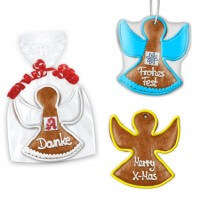 Gingerbread angel completely customizable