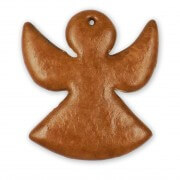 Gingerbread angel blank to decorate yourself, 30cm